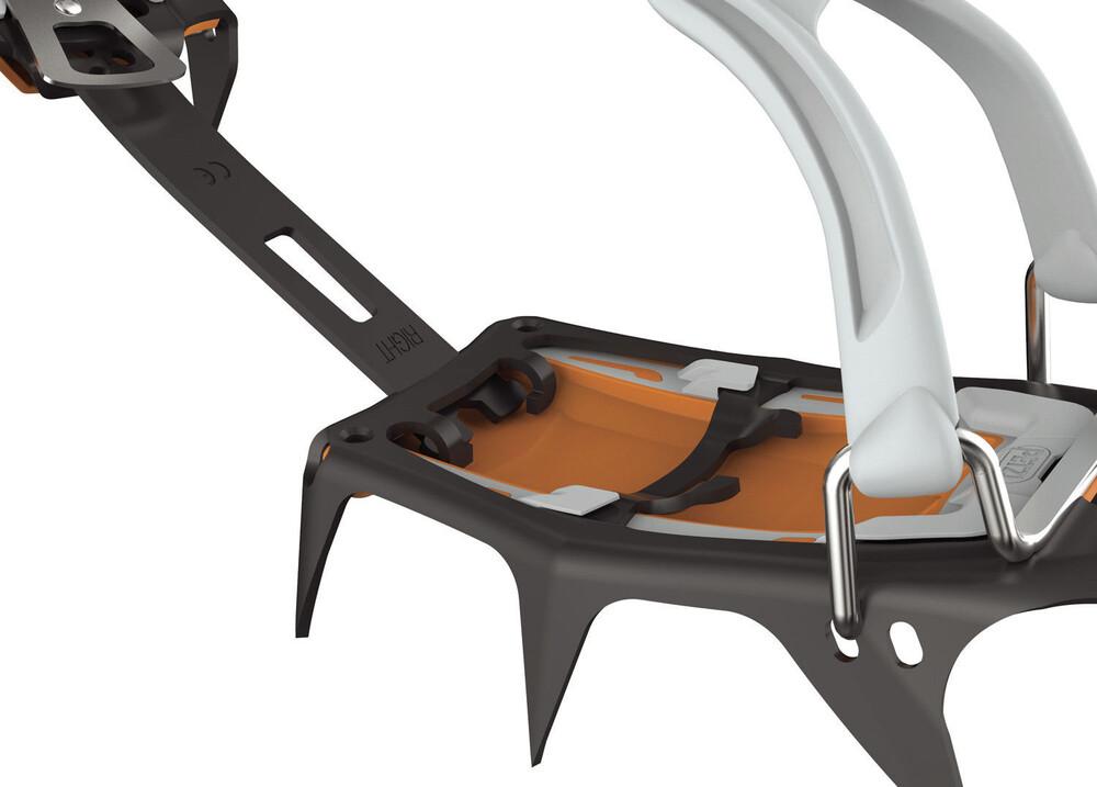 Petzl Irvis - Crampons - Flexlock gris/orange N9WMYg3y